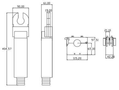 Orbital Welding Closed Arc Micro Weld Heads diagram